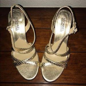 Michael Kors Sandals Heels Size 6M